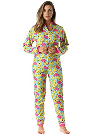 760f47a8ae Just Love Printed Flannel Adult Onesie Pajamas at Amazon Women s ...
