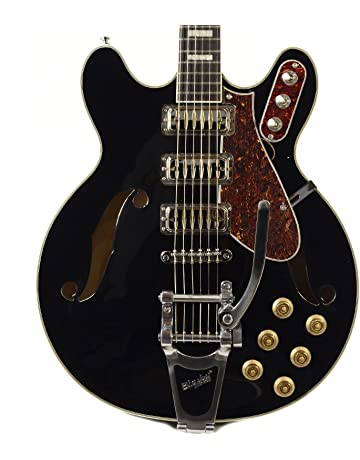 Airline H78 Black w/Bigsby