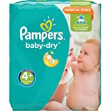 Pampers Baby-Dry Nappies Monthly Saving Pack - Size 4+, Pack of 152