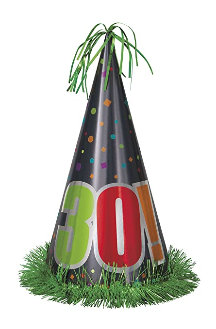 Image Unavailable Not Available For Color 13quot Jumbo Birthday Cheer 30th Party Hat
