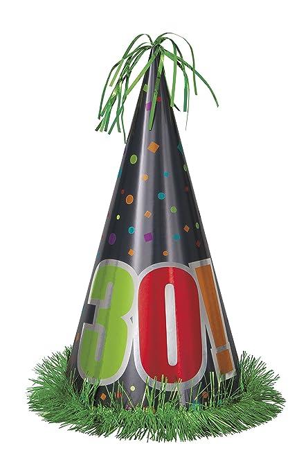 Amazon 13 Jumbo Birthday Cheer 30th Party Hat Kitchen Dining