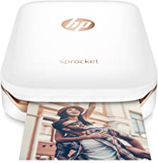 HP Sprocket Impresora de Tinta Portátil, Color Blanco