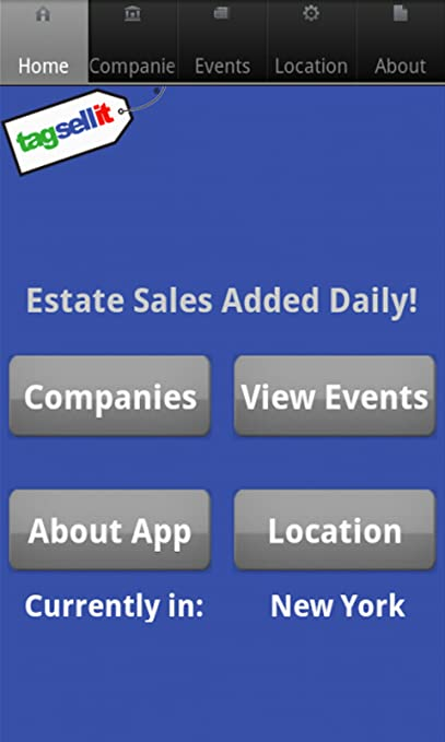 Amazon com: Estate Sales: Appstore for Android