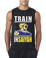 New Way 292 - Men's Sleeveless Train Insaiyan Gym Workout Goku DBZ Dragon Ball Z