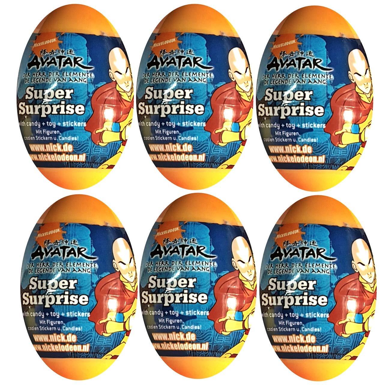 KSS - 6 Huevos Sorpresa para cumpleaños Infantiles, diseño ...