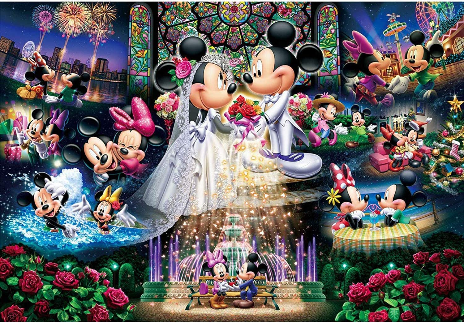 Full drill 5D diamond painting Mickey Mouse furniture decoration technology