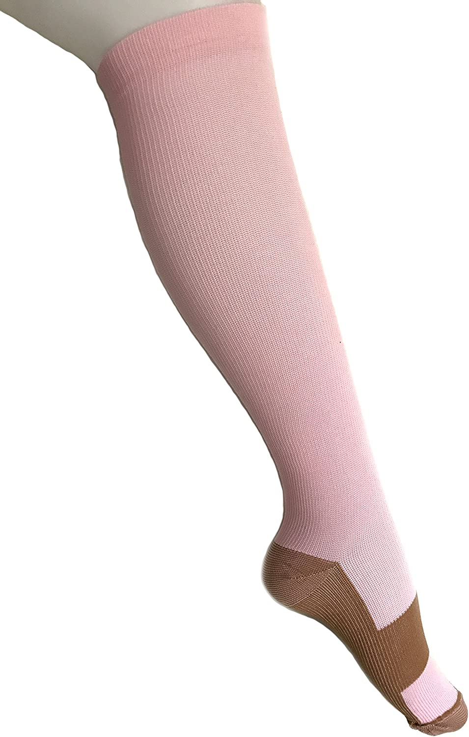 Copper Compression Socks For Men and Women 15-20mmhg Knee High