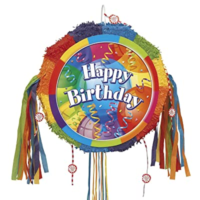 Brilliant Balloons Pinata, Pull String: Kitchen & Dining