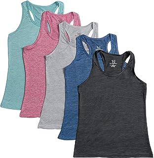 Amazon.com: Neleus Womens Racerback Yoga Workout Tank Top ...