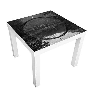 Bilderwelten Mesa de diseño - Traumtänzerin - 55x55x45cm, Mesa ...