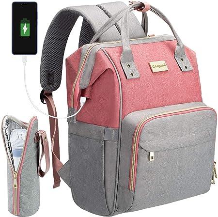 【Gran capacidad】---- La mochila incluye múltiples bolsillos y puede satisfacer todas sus necesidades
