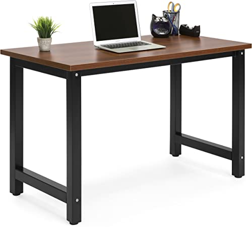 Best Choice Products Large Modern Computer Table Writing Desk Workstation