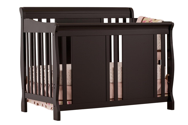 Amazon.com : Stork Craft Verona 4 In 1 Fixed Side Convertible Crib, Black :  Storkcraft Verona In Black : Baby
