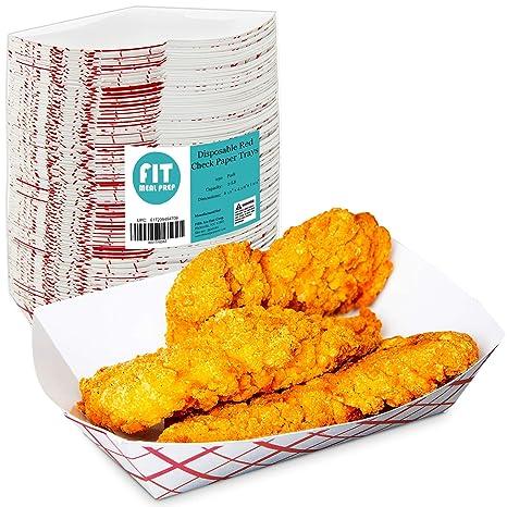 Fit Meal Prep 2 Lb Heavy Duty desechable cheque de papel ...