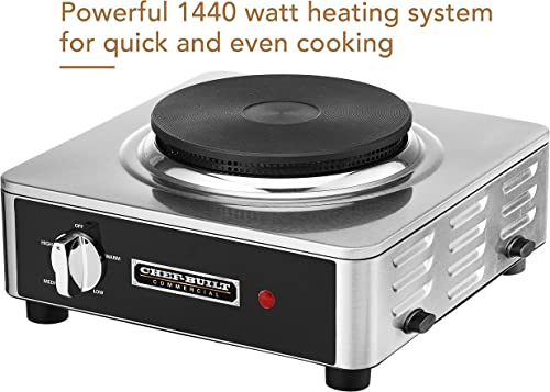 CHEF-BUILT CHP-40 Commercial Single Cast Iron Burner