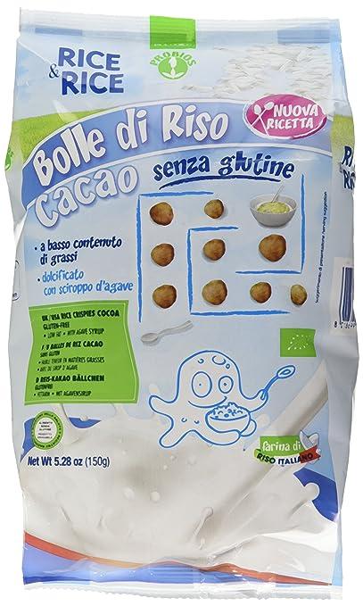 2 opinioni per Probios, Bolle di Riso con Cacao senza Glutine, 150 g