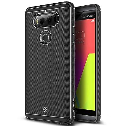 newest d39be 8e727 LG V20 Case, OBLIQ [Flex Pro][Black] Slim Fit Scratch Resist Shock  Absorption Soft TPU Protective Case for LG V20 (2016)