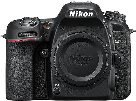 Nikon D7500 DX-Format Digital SLR Body (Black) Digital SLR Cameras at amazon