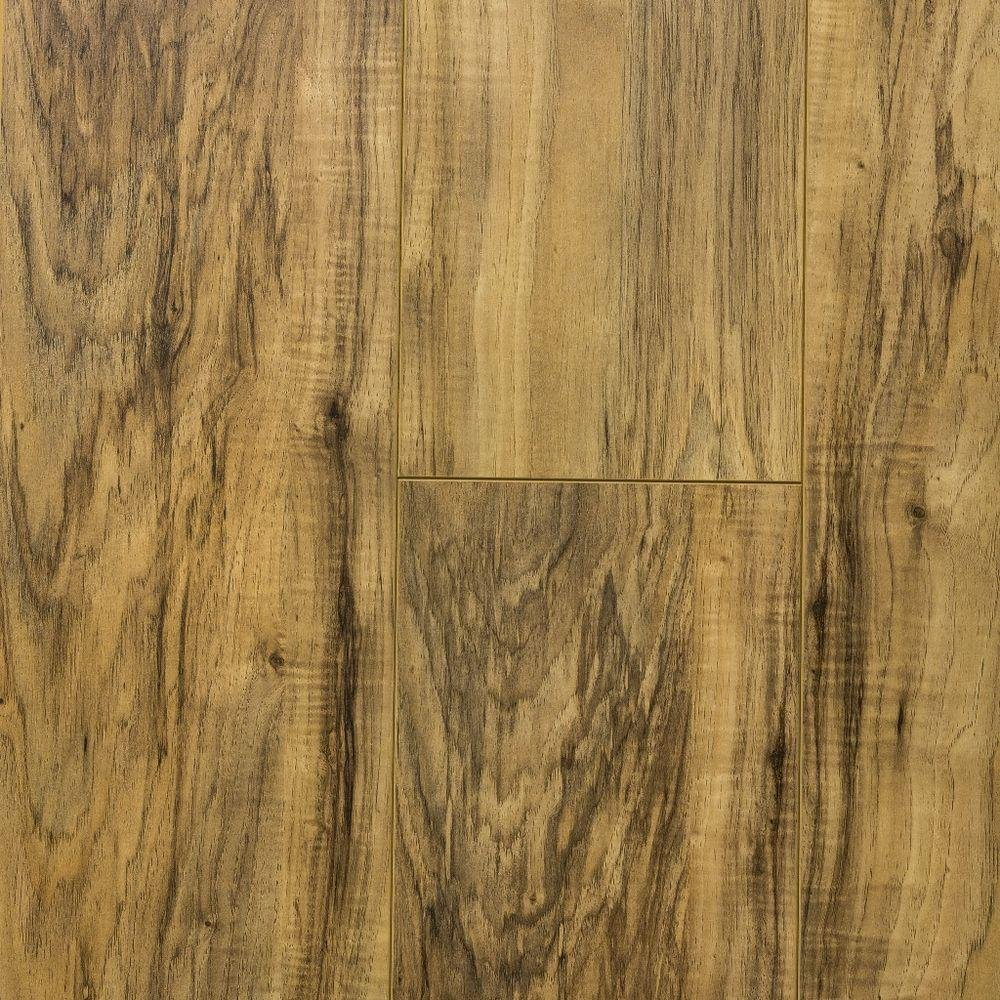 Lakeshore Pecan 7 Mm Thick X 7 2 3 In Wide X 50 5 8 In Length Laminate Flooring 24 17 Sq Ft Case Amazon Com
