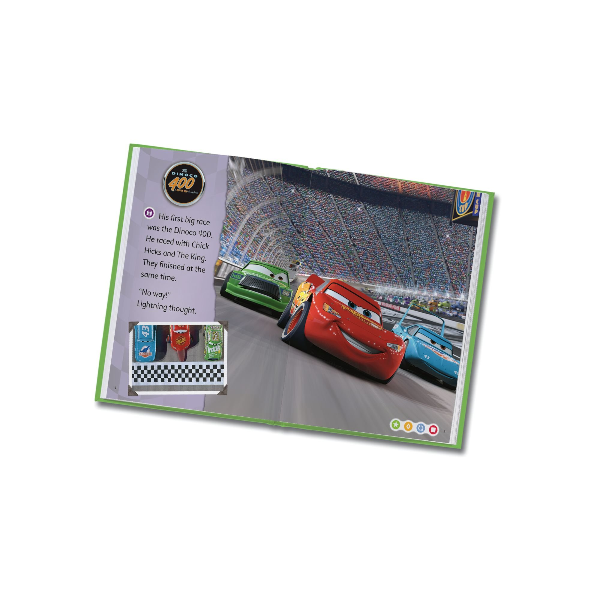 LeapFrog LeapReader Book: Disney·Pixar Cars: Racing Adventures (works with Tag) by LeapFrog (Image #6)