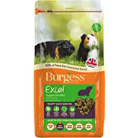 Excel Burgess Guinea Pig Nuggets with Mint 4kg