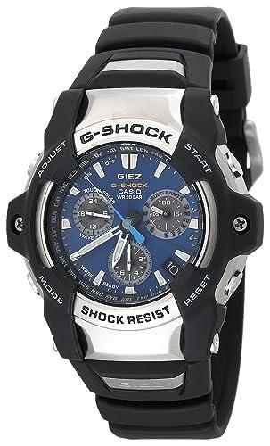 Casio GS1100-2A - Reloj de Pulsera Hombre, Poliuretano, Color Negro: Casio: Amazon.es: Relojes