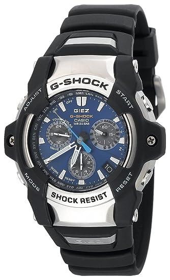 Casio GS1100-2A - Reloj de Pulsera Hombre, Poliuretano, Color Negro