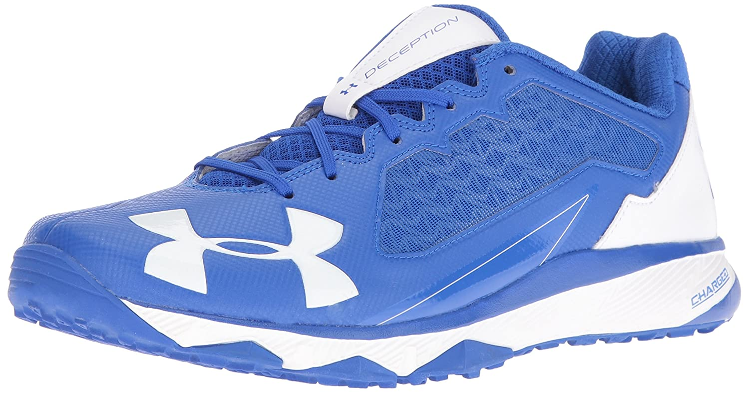 Under Armour Men's Deception Trainer Baseball Shoe B01D3NL9NW 16 M US|Team Royal (411)/White