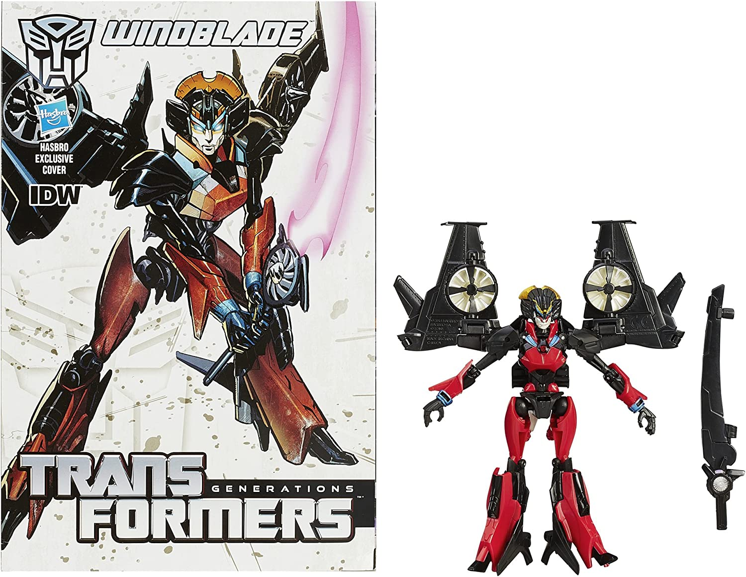 Transformers 30th Anniversary Generations IDW Autobot Windblade  Deluxe Class