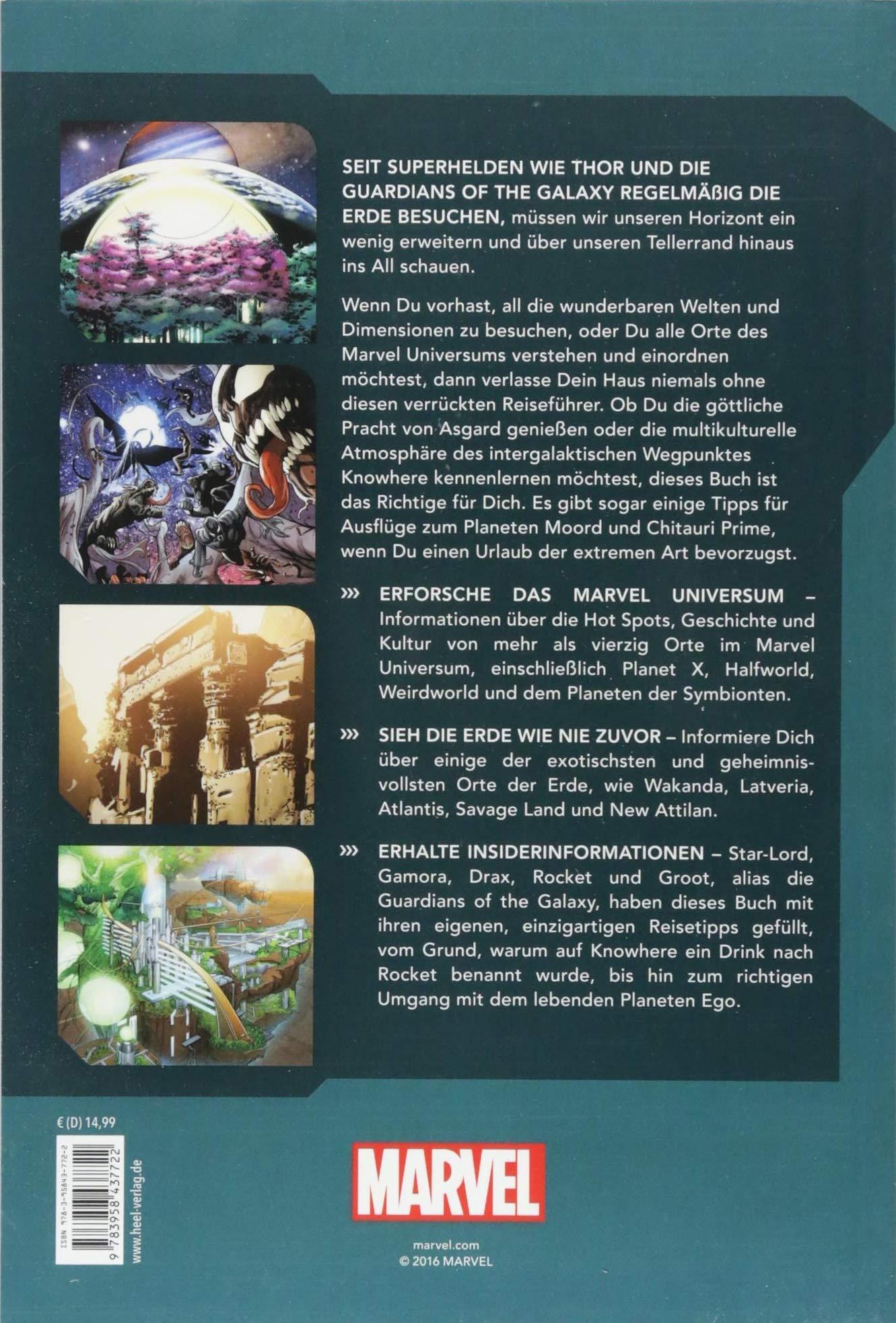Das Komplette Marvel Universum Der Verrückte Reiseführer