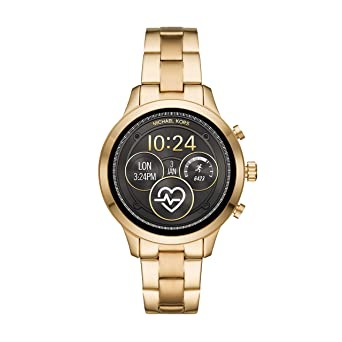 Michael Kors Reloj Mujer de Digital con Correa en Acero Inoxidable MKT5045: Amazon.es: Relojes