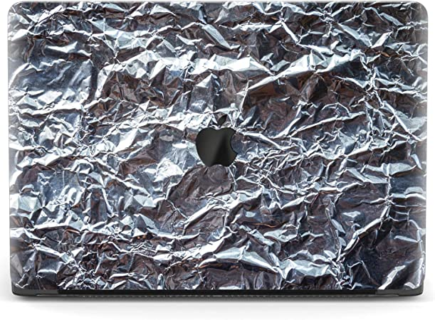Mertak Hard Case for Apple MacBook Pro 16 Air 13 inch Mac 15 Retina 12 11 2020 2019 2018 2017 Black Plastic Protective Cool Touch Bar Print Clear Pixel Abstract Glitched Screen Design Noise Cover