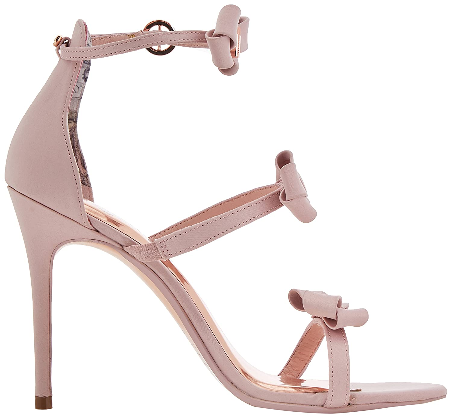 d6158cf58ea2 Ted Baker Women s Nuscala Ankle Strap Sandals  Amazon.co.uk  Shoes   Bags