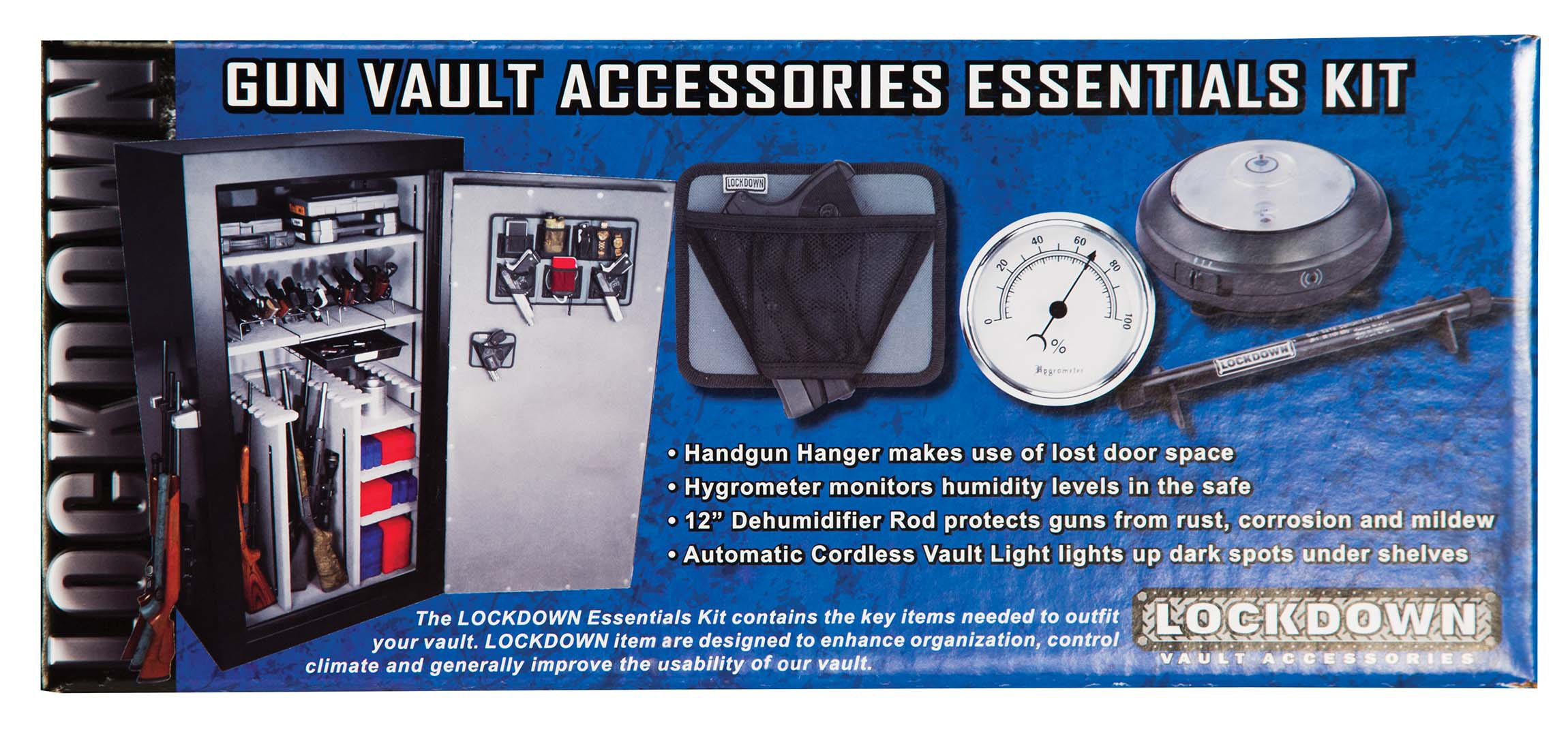 LOCKDOWN Vault Accessories Essentials Kit by LOCKDOWN
