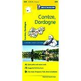 Correze, Dordogne Michelin Local Map 329 (Michelin Local Maps)