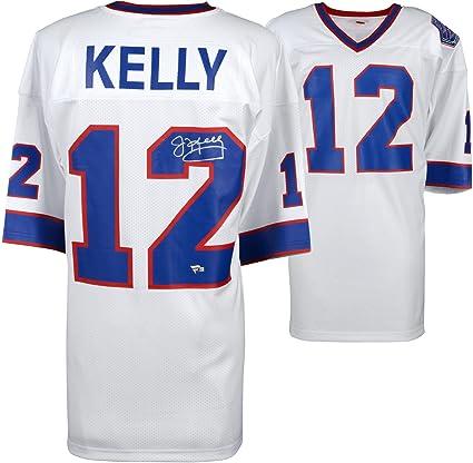 eb53437ea ... germany jim kelly buffalo bills autographed white mitchell ness super  bowl xxv authentic jersey fanatics 226cb ...