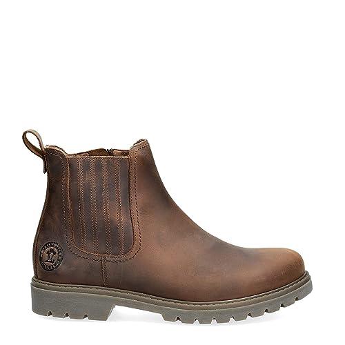 Botines de Hombre PANAMA JACK Bill C1 NAPA Grass Cuero: Amazon.es: Zapatos y complementos