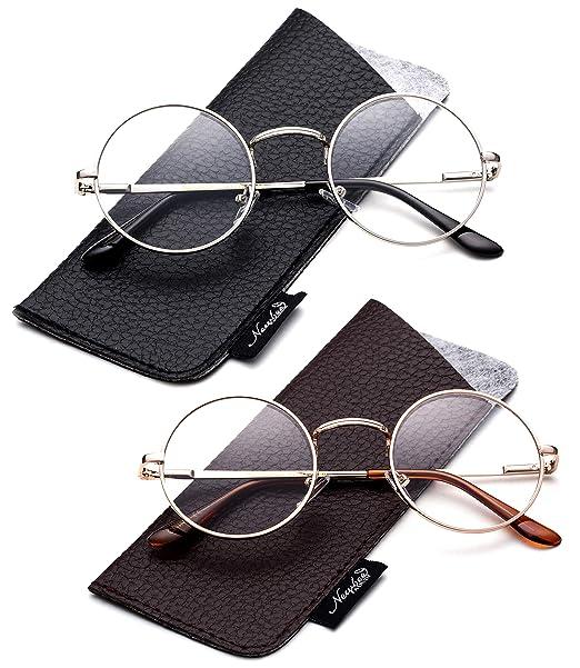 3d63452d52 John Lennon Glasses Hippy 60 s Vintage Retro Round Designer Inspired Walrus  Style Sunglasses   Clear Lens