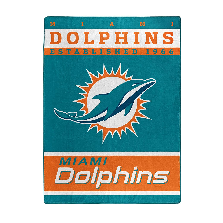"Officially Licensed NFL ""12th Man"" Plush Rachel Throw Blanket, 60"" x 80"", Multi Color"