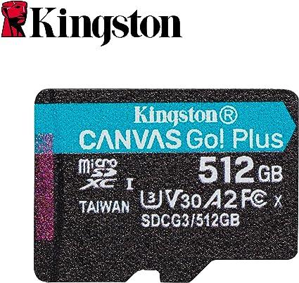 Kingston SDCG3/512GB Tarjeta microSD (512GB microSDXC Canvas Go ...