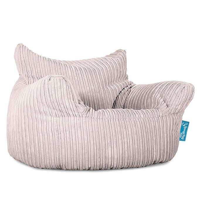 Lounge Pug®, Puff Sillón para niños, Pana Clásica - Crema ...