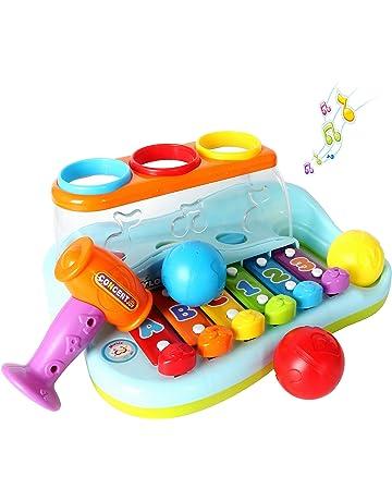 c5fafdd08074d3 Gioco Musicale Tastiera, Strumenti Musicali Bambini, Pianoforte Bambino  Xilofono Giocattolo con Martello e Palle. #3