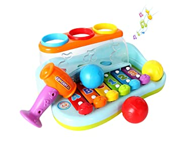 Musical Toys For 1 Year Olds : Musical toys 1 year old baby toy enlighten xylophone child baby