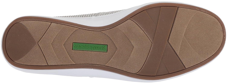 Grasshoppers Women's Sneaker Janey Ll Textural Stripe Sneaker Women's B072Z6K4HY 9 W US|Drizzle Grey 5572ca