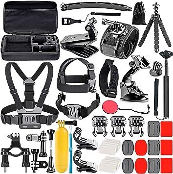 Neewer 12-en-1 DBPOWER Apeman AKASO EK7000 Kit de accesorios para GoPro Hero