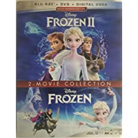 Frozen Blu Ray Double Feature Part 1 and 2
