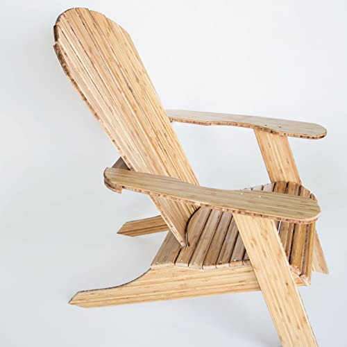 ModernMade Ready to Assemble Real Bamboo Adirondack Chair