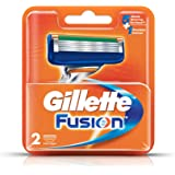 Gillette Fusion Manual Shaving Razor Blades - 2s Pack (Cartridge)
