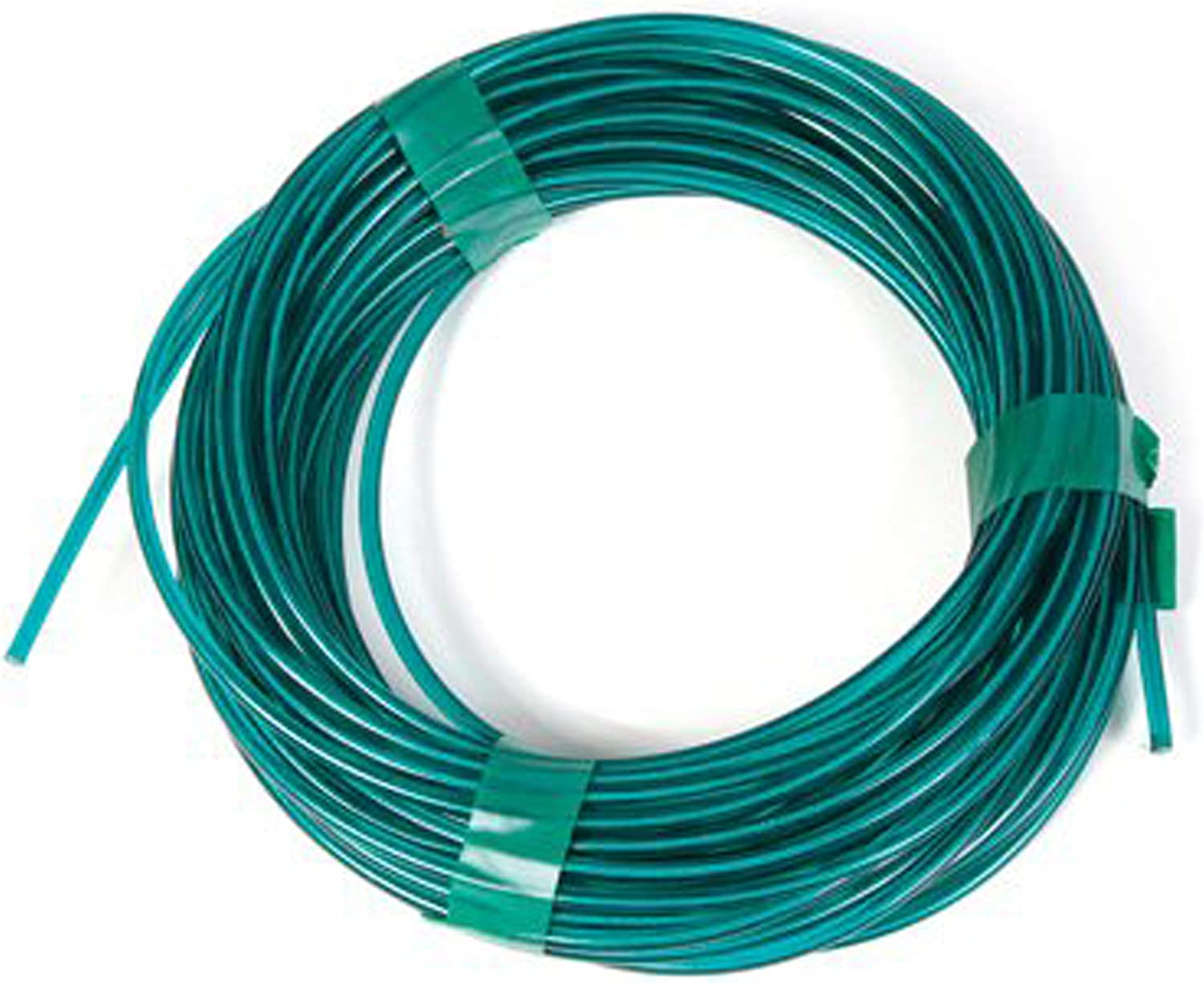 Koch 5630515 No.5 by 50-Feet Vinyl Coated Wire Clothesline, Green