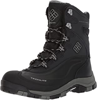 Columbia Men's Bugaboot II Snow Boot, Black, Charcoal, 10 D US